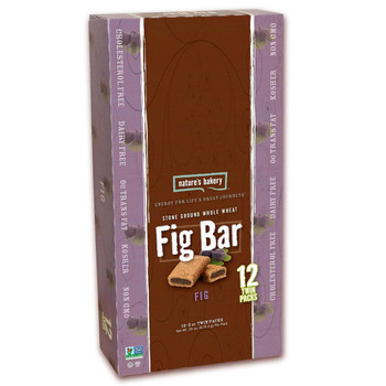 Nature's Bakery, Whole Wheat Fig Bar, 2.0 oz. (12 Count)