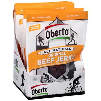 Oberto Jerky, Original Natural Style 1.5 oz. Bags (8 Count)