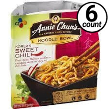 Annie Chun's Noodle Bowl, Korean Sweet Chili, 8.0 oz. (6 Count)
