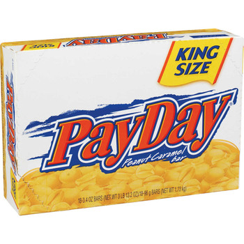 PayDay, Sharing Size, 3.4 oz. Bars ( 18 Count)