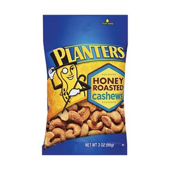 Planters, Honey Roasted Cashews, 3.0 oz. Bag (1 Count)