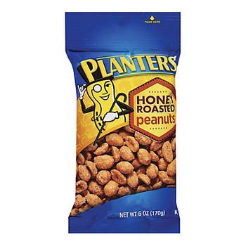 Planters, Honey Roasted Peanuts, 6.0 oz. Bag (1 Count)