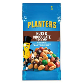 Planters, Trail Mix, Nuts and Chocolate, 2.0 oz. Peg Bag (72 Count)