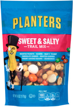 Planters, Trail Mix, Sweet & Salty, 6.0 oz. Bag (1 Count)