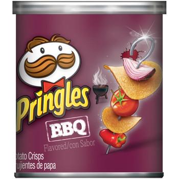 Pringles Potato Crisps, BBQ, 1.41 oz. Can (1 Count)