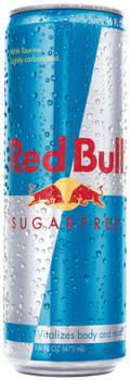 Red Bull Energy Drink Sugar Free, 16.0 oz. Can (1 Count)