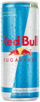 Red Bull Energy Drink Sugar Free, 8.4 oz. Can (1 Count)
