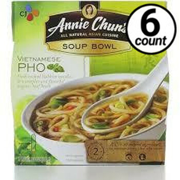 Annie Chun's Soup Bowl, Vietnamese Pho, 6 oz. (6 Count)