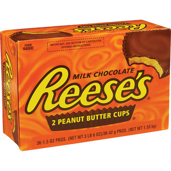 Reese's Peanut Butter Cup, 1.5 oz. (36 Count)