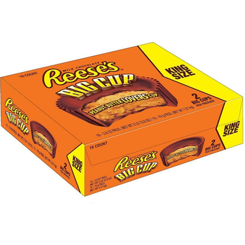 Reese's Peanut Butter Cup, BIG CUP, 2-2.8 oz. Cups ( 16 Count)