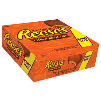Reese's Peanut Butter Cups, Sharing Size, 2.8 oz. Cups (24 Count)