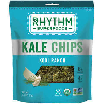 Rhythm Superfoods, Kale Chips, Kool Ranch, 2.0 oz. Bag (1 Count)
