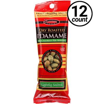 Sea Point Farms, Dry Roasted Edamame, Sea Salt, 1.58 oz. (12 Count)