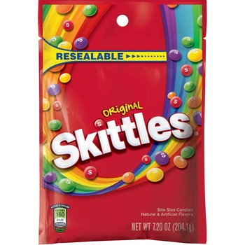 Skittles Original, 7.2 oz. Peg Bag (1 Count)