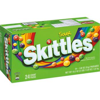 Skittles Sour, 1.8 oz. Packs (24 Count)