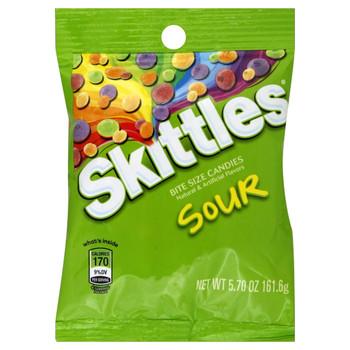Skittles Sour, 5.7 oz. Peg Bag (1 Count)