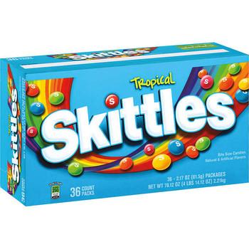 Skittles Tropical, 2.17 oz. Packs (36 Count)