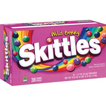 Skittles Wild Berry, 2.17 oz. Packs (36 Count)