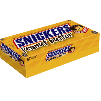 Snickers, Peanut Butter, 1.78 oz. Bars (18 Count)