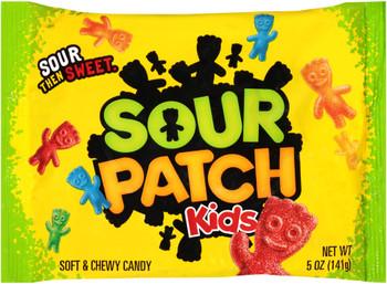 Sour Patch Kids, Sour then Sweet, 5.0 oz. Peg Bag (1 Count)