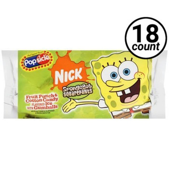 SpongeBob Squarepants Popsicle (18 Count)