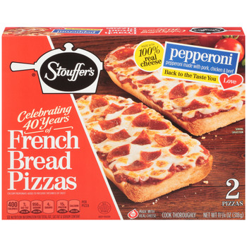 Stouffer's, Pepperoni Pizza, 11.25 oz. Packaged Meal (1 Count)