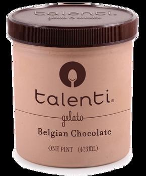 Talenti, Belgium Milk Chocolate, Gelato, Pint (1 Count)