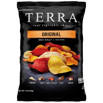 Terra Chips Brand, Original Exotic Vegetable Chips, 1.5 oz. Bag (1 Count)