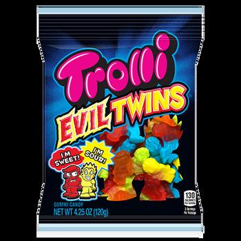 Trolli, Evil Twins, 4.25 oz. Peg Bag (1 Count)