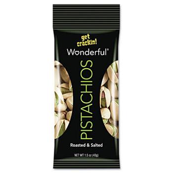 Wonderful Pistachios, Roasted & Salted, 1.5 oz. Peg Bag (1 Count)