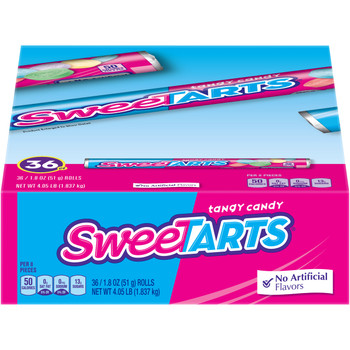 Wonka SweeTarts Candy Roll, 1.8 oz. (36 Count)