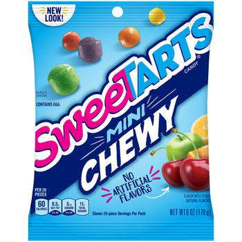 Wonka SweeTarts, Mini Chewy, 6 oz. Bag (1 Count)