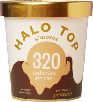 Halo Top, S'Mores Ice Cream, Pint (1 Count)