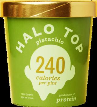 Halo Top, Pistachio Ice Cream, Pint (1 Count)