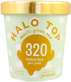 Halo Top, Mochi Green Tea Ice Cream, Pint (1 Count)