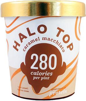 Halo Top, Caramel Macchiato Ice Cream, Pint (1 Count)
