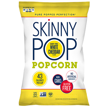 SkinnyPop, White Cheddar, 1.0 oz. Bag (1 Count)