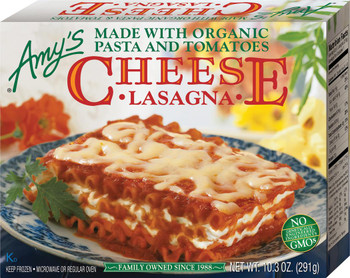 Amy's Kitchen, Cheese Lasagna, 10.3 oz. Entree (1 Count)