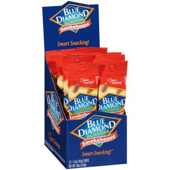 Blue Diamond, Smokehouse Almonds, 1.5 oz. (12 Count)