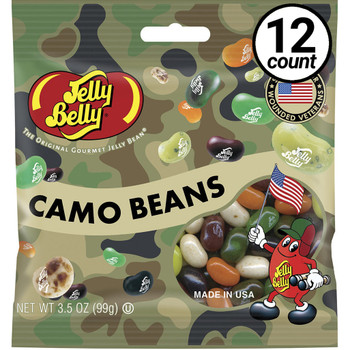Jelly Belly, Camo Beans, 3.5 oz. Bag (12 Count)