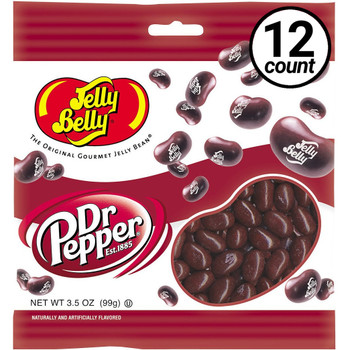 Jelly Belly, Dr. Pepper, 3.5 oz. Bag (12 Count)