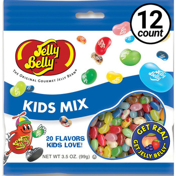 Jelly Belly, Kids Mix, 3.5 oz. Bag (12 Count)