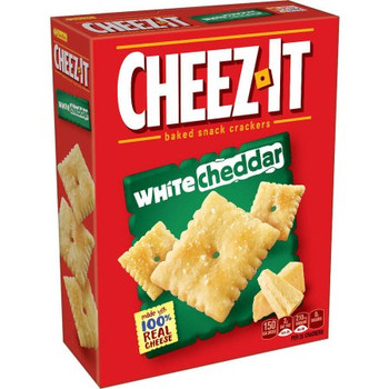 Cheez-It, Cheese Crackers, White Cheddar, 7.0 oz Box (1 Count)