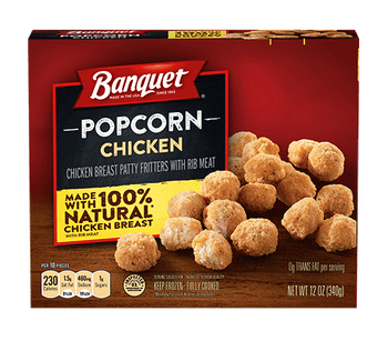 Banquet, Popcorn Chicken Box, 12.0 oz. Microwavable (1 Count)