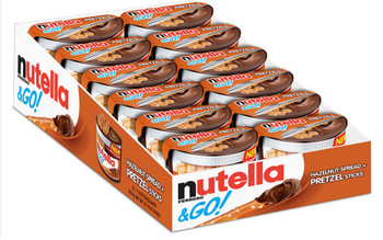 Nutella & Go Packs with Pretzel Sticks, 1.9 oz. Packs (12 Count)