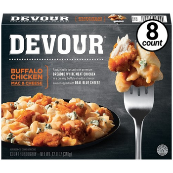 Devour Buffalo Chicken Mac & Cheese, 12 Oz (8 Count)