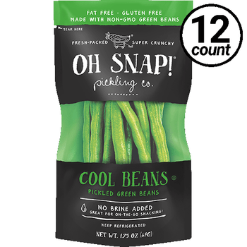 Oh Snap! Pickling Co., Cool Beans, 1.75 oz. (12 Count)