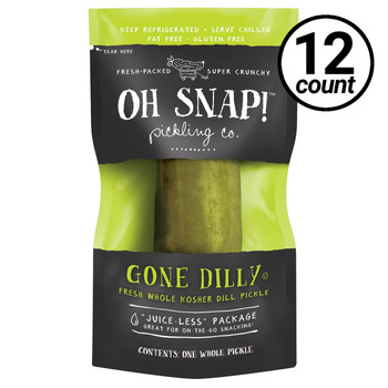 Oh Snap! Pickling Co., Gone Dilly, 3.5 oz. (12 Count)