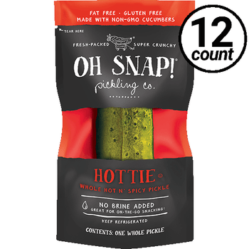 Oh Snap! Pickling Co., Hottie, 3.5 oz. (12 Count)