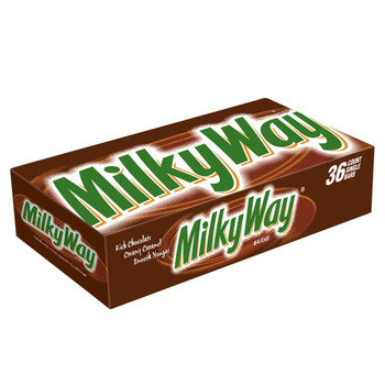 Milky Way, Rich Chocolate, 1.84 oz. Bars (case of 36)
